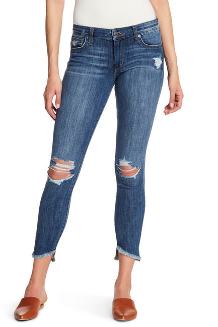 Image of Joe's Jeans The Icon Blondie Step Hem Skinny Jeans