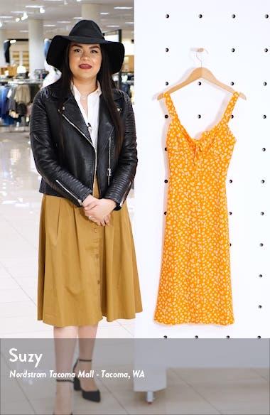 Ditsy Print Dress, sales video thumbnail