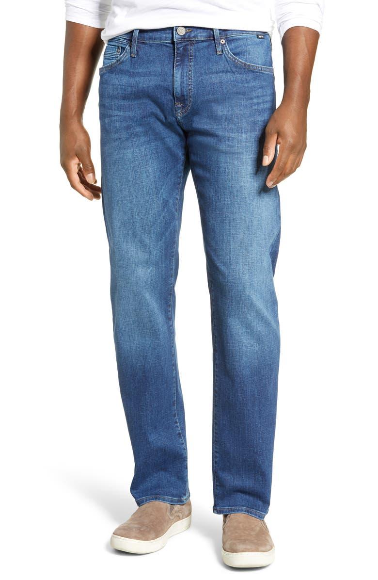 MAVI JEANS Zach Straight Leg Jeans, Main, color, 420