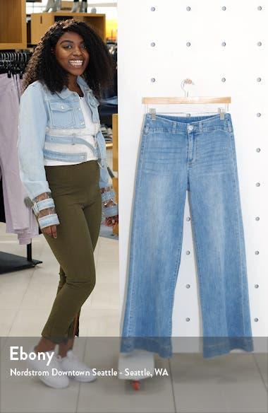 Sutton High Waist Wide Leg Jeans, sales video thumbnail