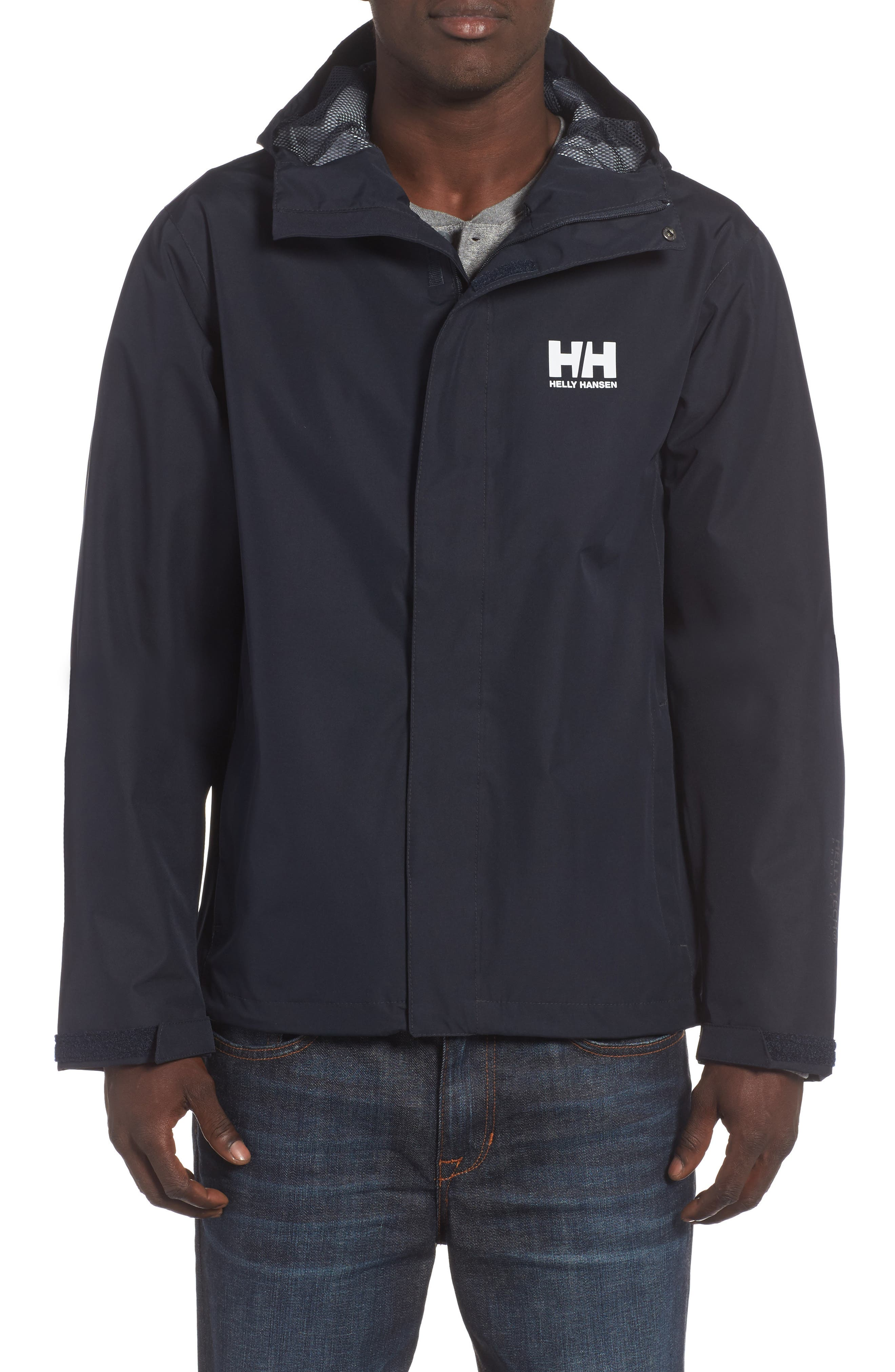 Helly Hansen Seven J Waterproof & Windproof Jacket, Blue