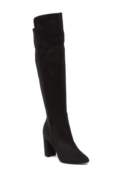 Image of Zigi Soho Siyah Stretch Over The Knee Boot