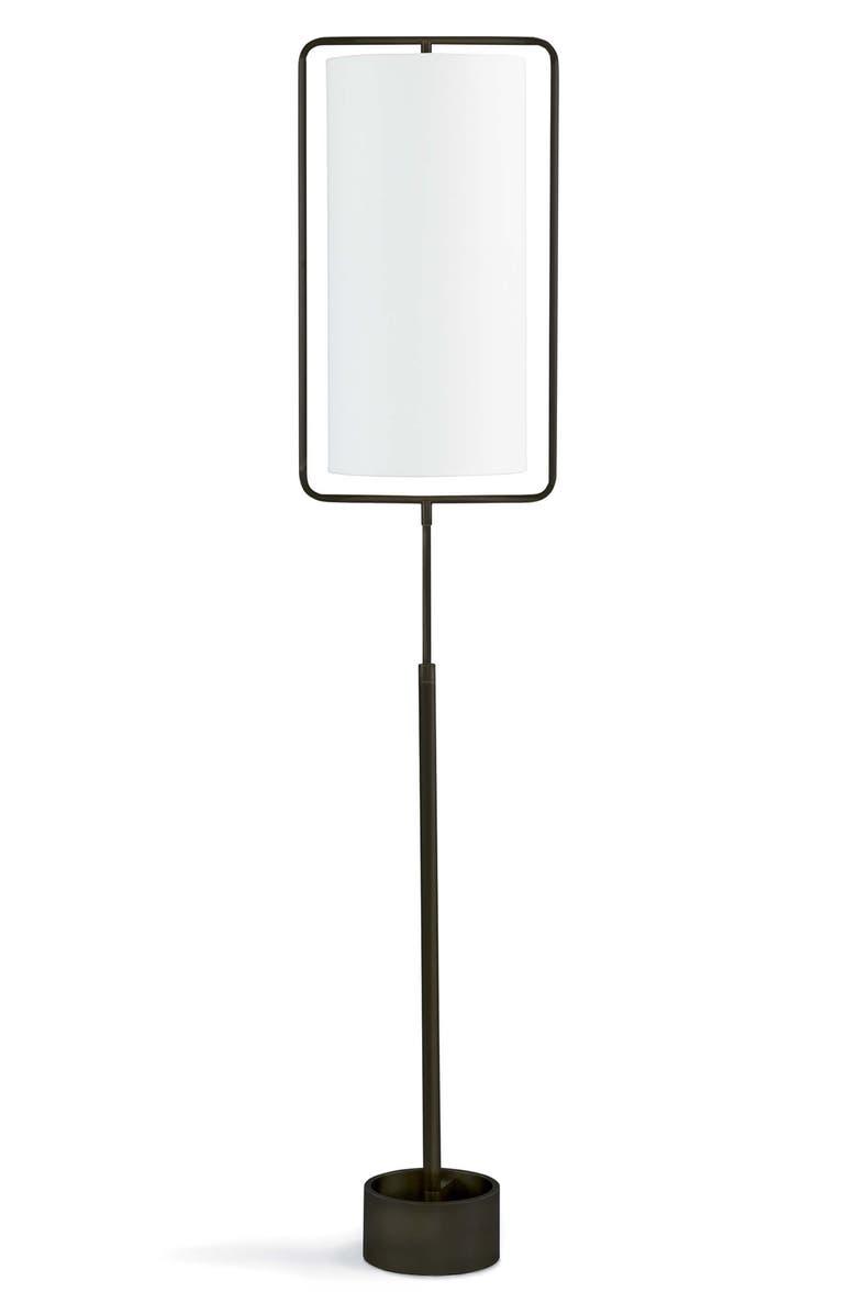 REGINA ANDREW DESIGN Geo Rectangular Floor Lamp, Main, color, OIL RUBBED BRONZE