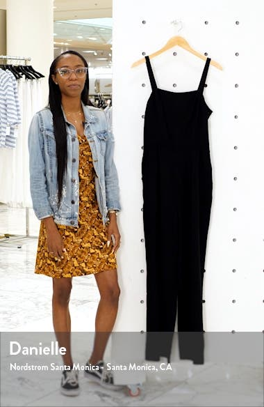 Tie Back Wide Leg Jumpsuit, sales video thumbnail