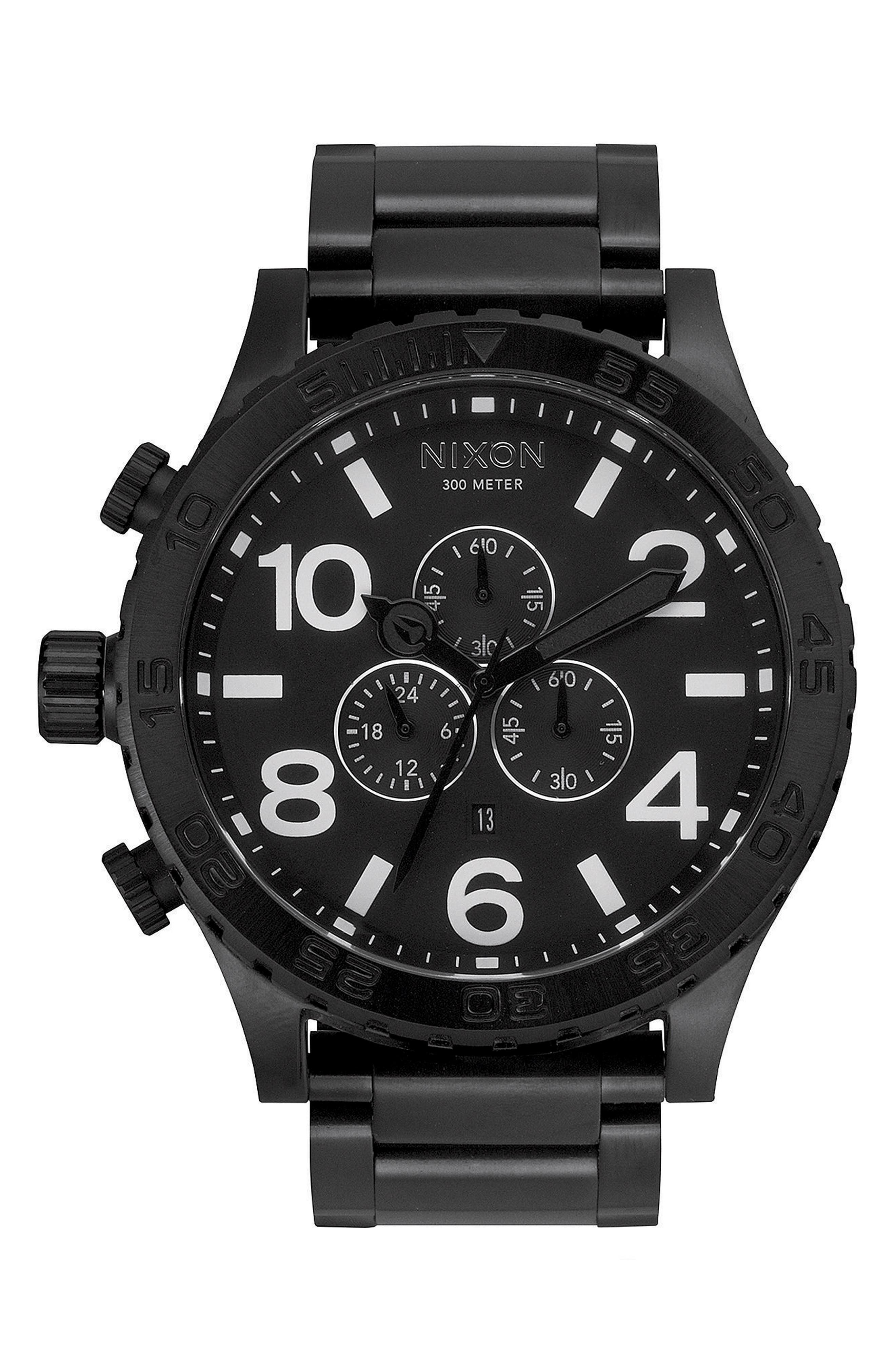 ,                             'The 51-30 Chrono' Watch, 51mm,                             Main thumbnail 13, color,                             006