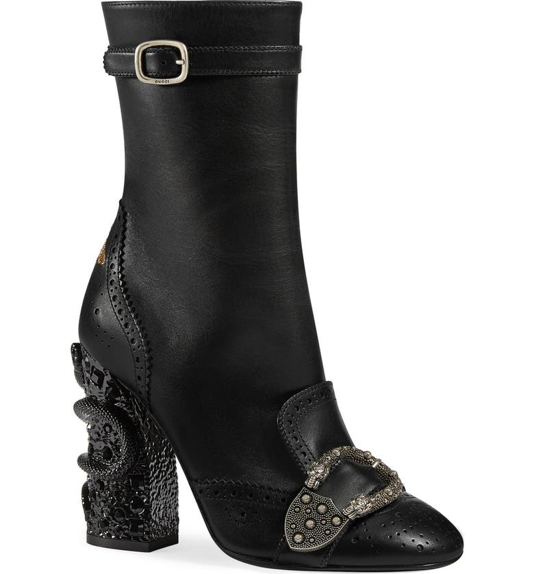 416ef646c Gucci Queercore Brogue Boot (Women) | Nordstrom