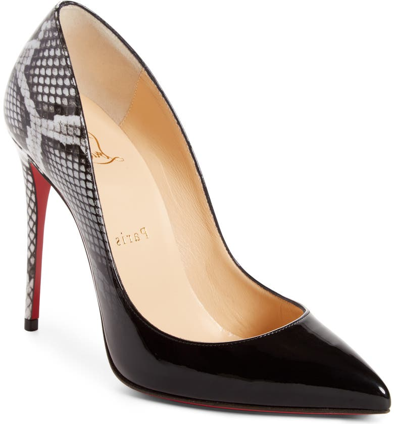 low priced 643e8 28471 Christian Louboutin Pigalle Follies Pointy Toe Pump (Women ...
