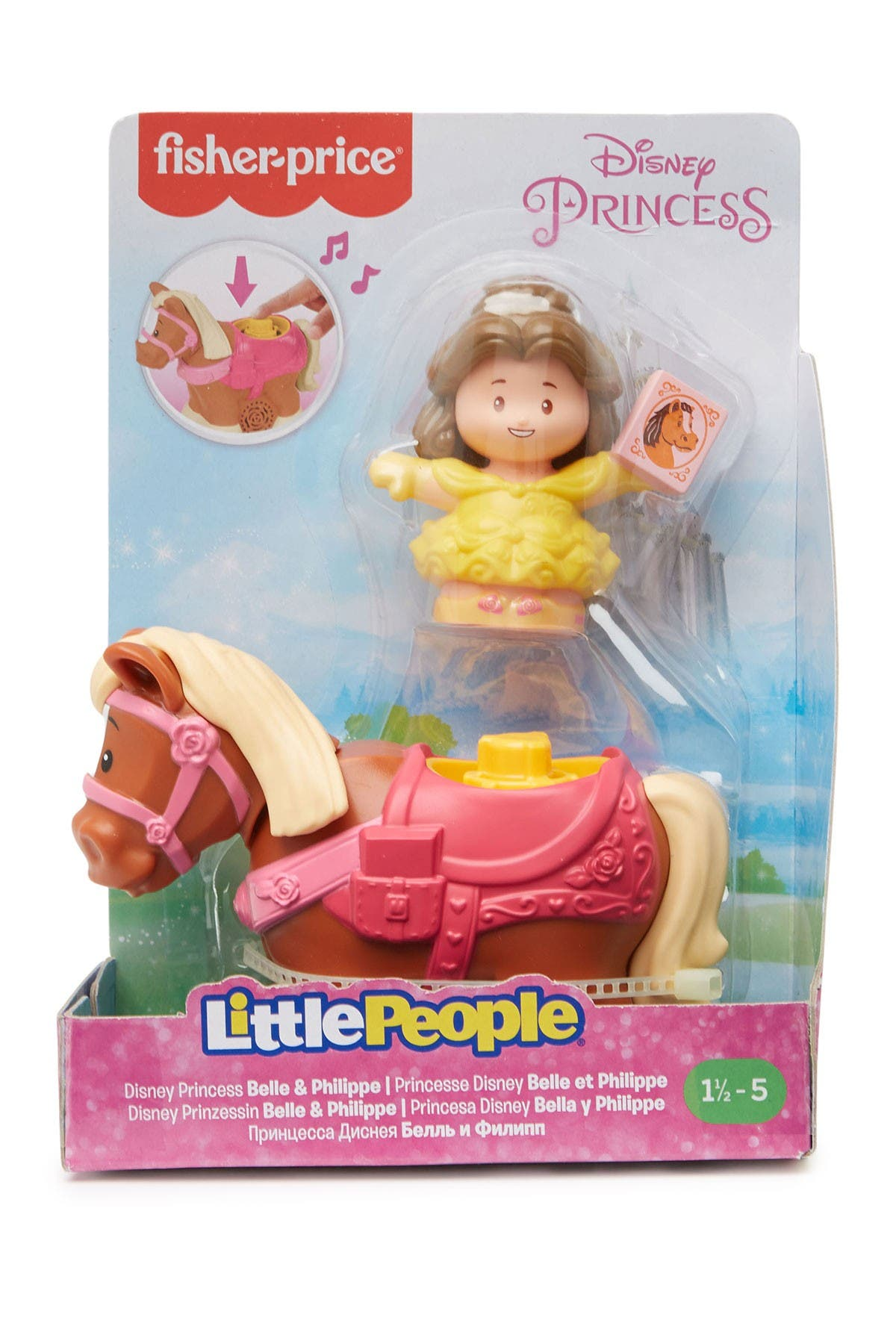 Image of Fisher-Price Disney Princess Belle & Philippe