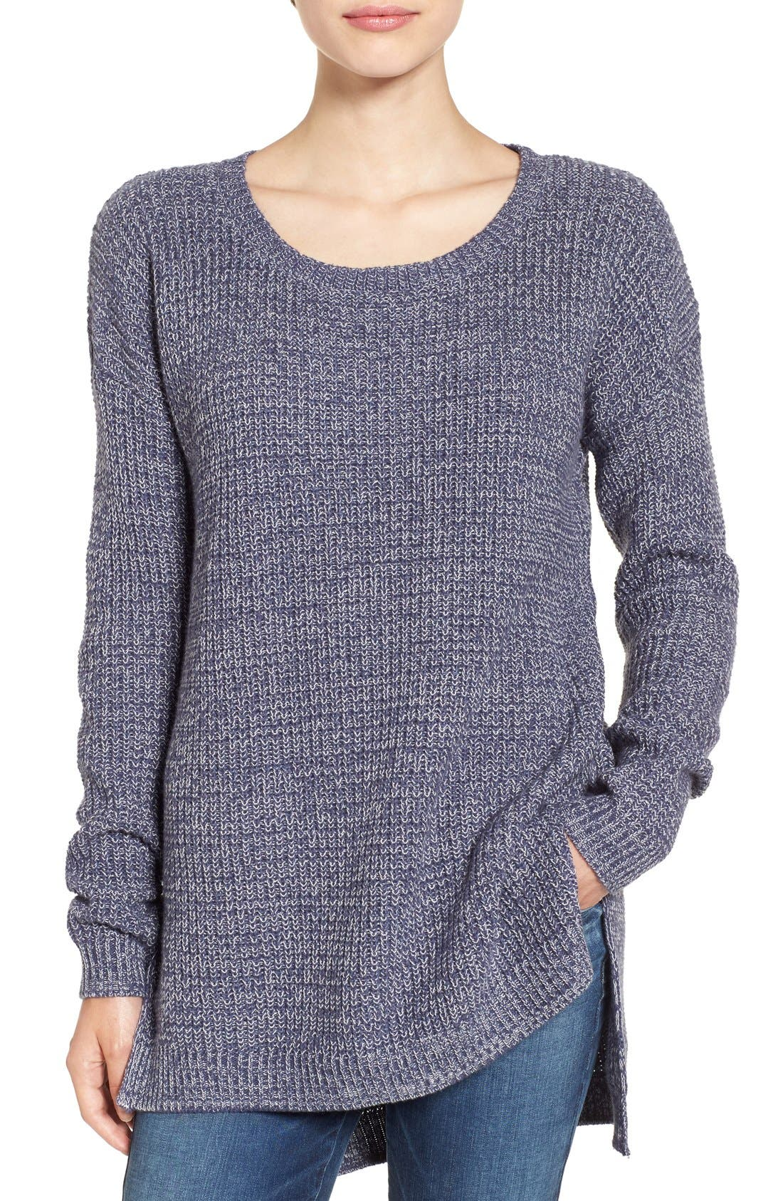 ,                             Textured Knit Pullover,                             Main thumbnail 18, color,                             401
