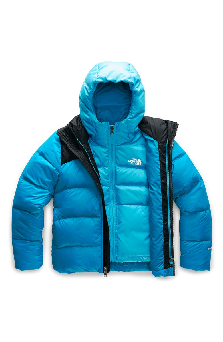 THE NORTH FACE Double Down TriClimate<sup>®</sup> 3-in-1 Jacket, Main, color, ACOUSTIC BLUE