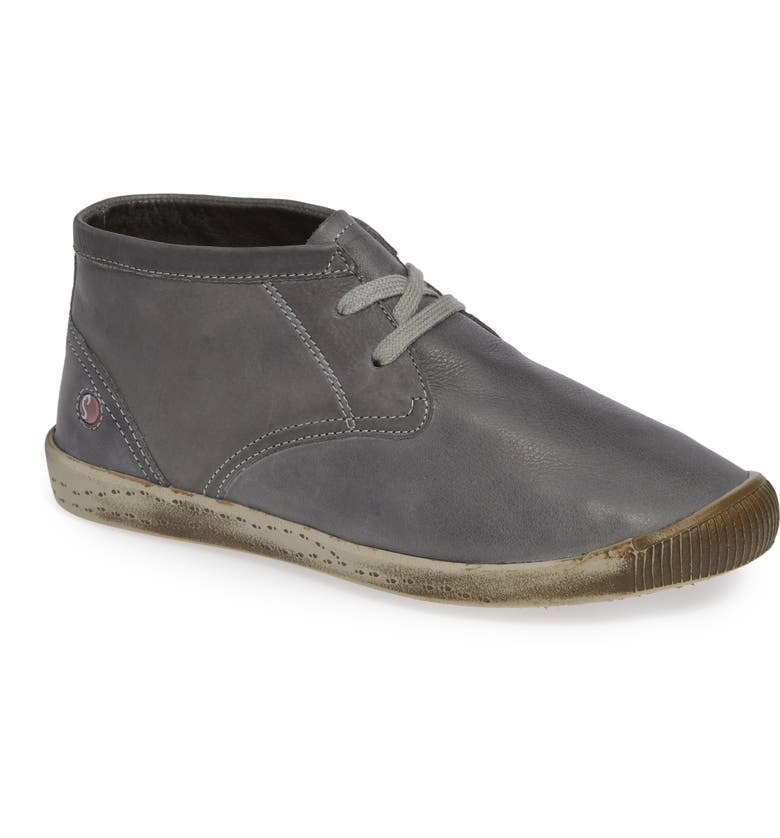 SOFTINOS BY FLY LONDON Indira Sneaker, Main, color, MILITARY WASHED LEATHER