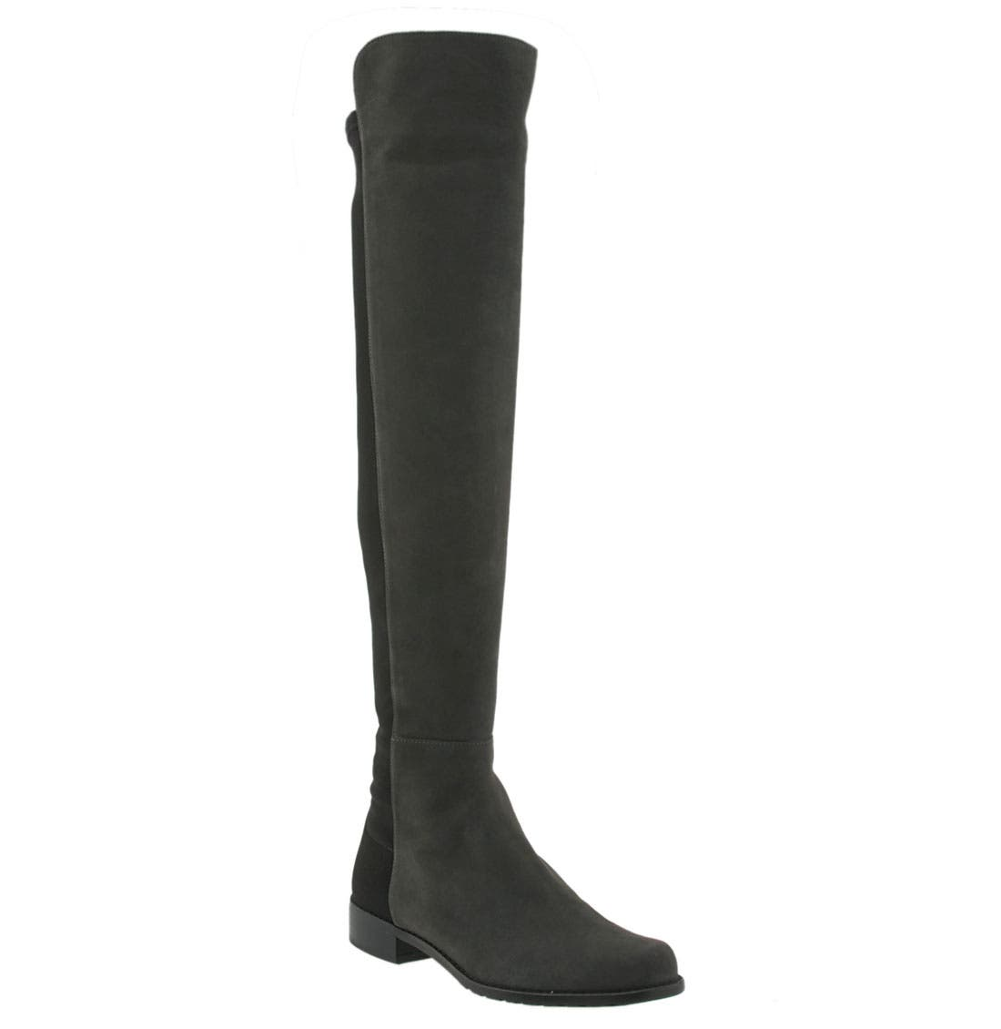 ,                             5050 Over the Knee Leather Boot,                             Main thumbnail 17, color,                             030