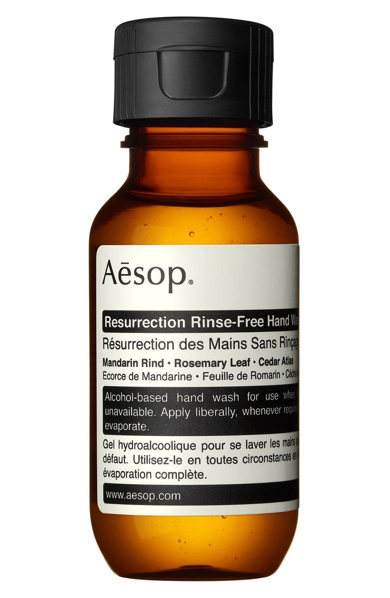 AESOP Resurrection Rinse-Free Hand Wash, Main, color, NONE