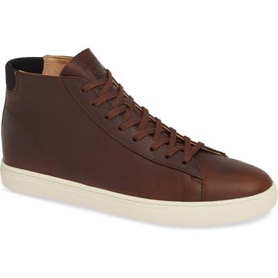 Clae Bradley Mid Sneaker, Brown