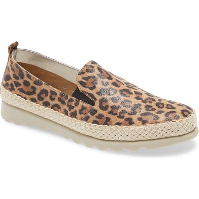 The Flexx Chappie Slip-On Sneaker- Brown