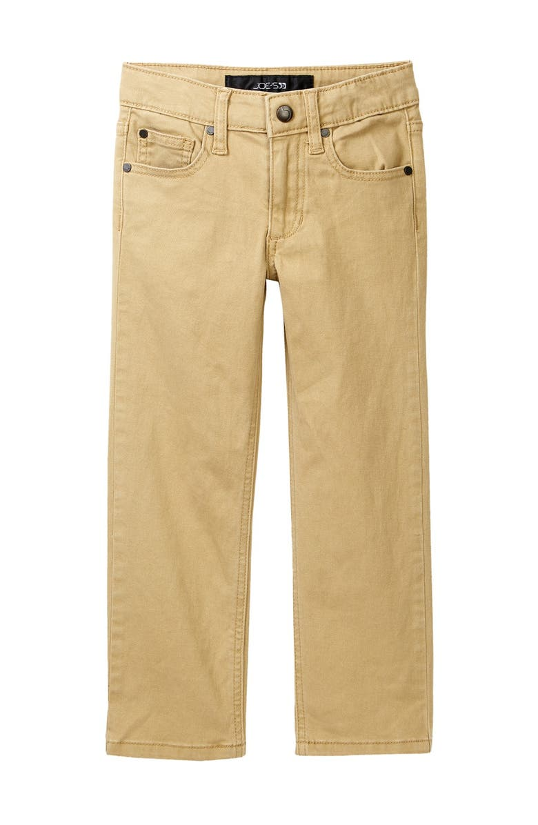 JOES Brixton Twill Pants, Main, color, SUEDED KHAKI