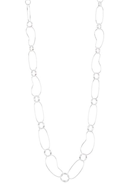 Image of Ippolita Sterling Silver Classico Long Bean Link Necklace