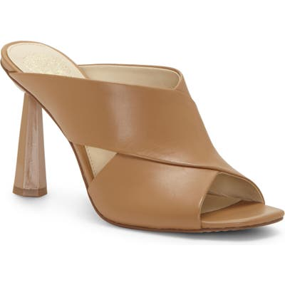 Vince Camuto Averessa Slide Sandal- Brown