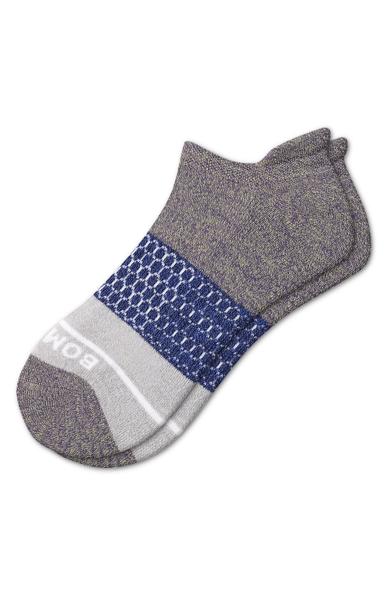 Color Block Ankle Socks
