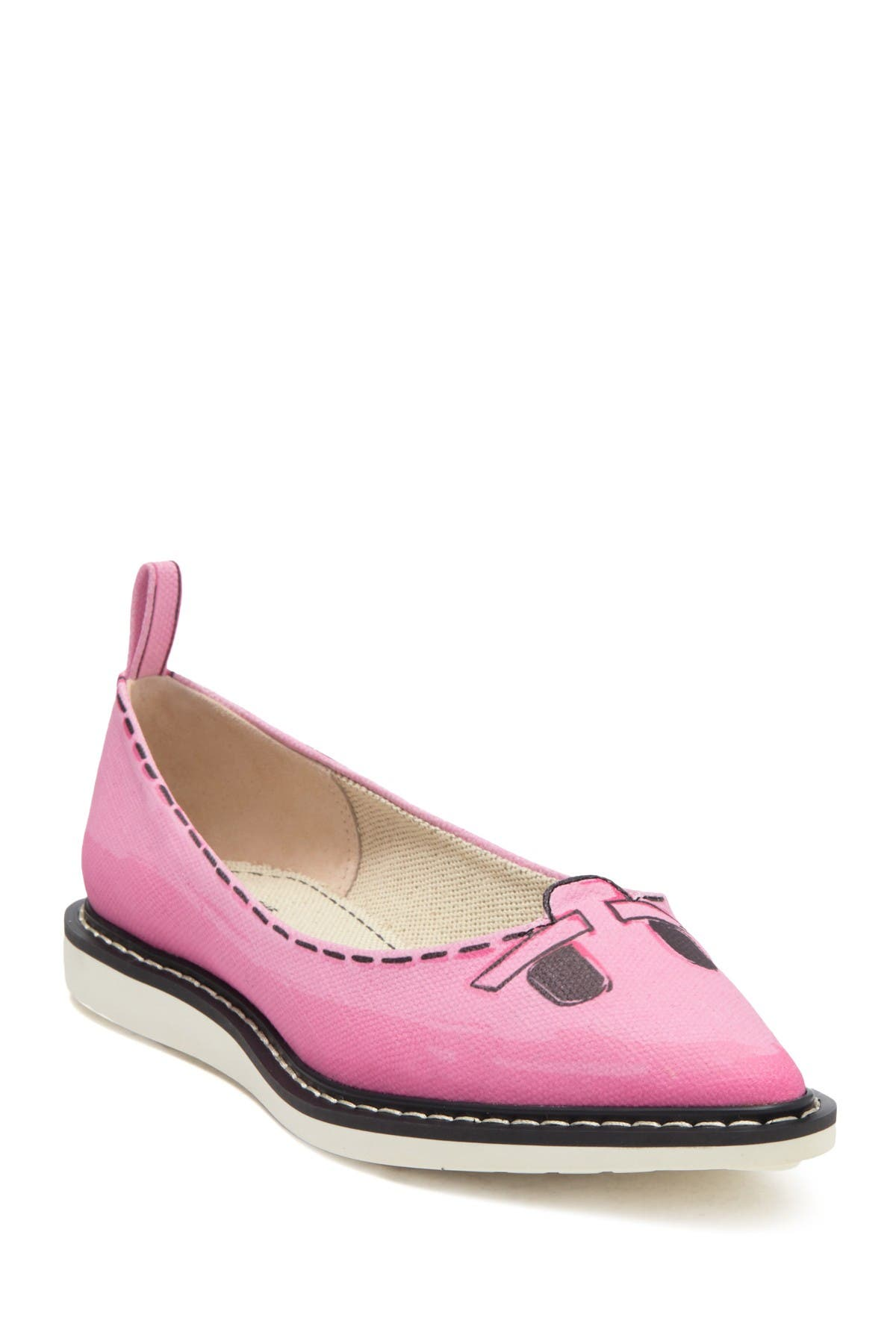 Image of Marc Jacobs The Mouse Shoe Pointy Toe Loafer