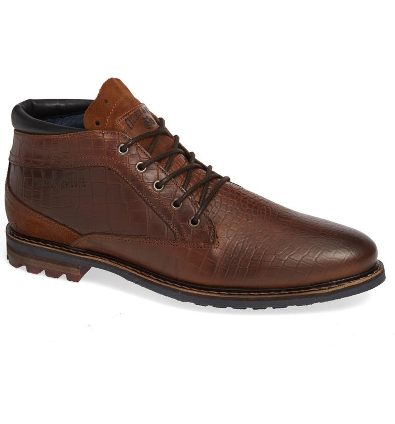 CYCLEUR DE LUXE Manton Plain Toe Boot, Main, color, COGNAC
