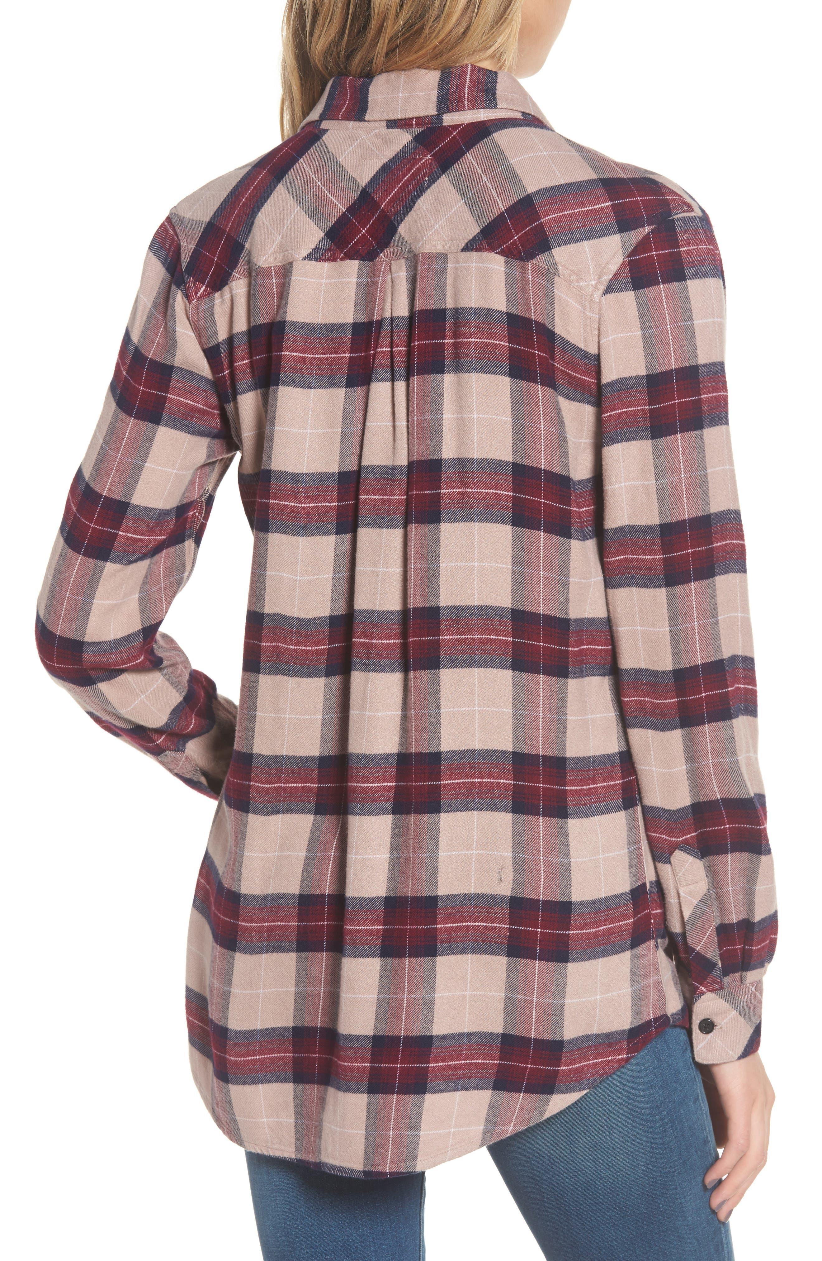,                             Hunter Plaid Shirt,                             Alternate thumbnail 703, color,                             294