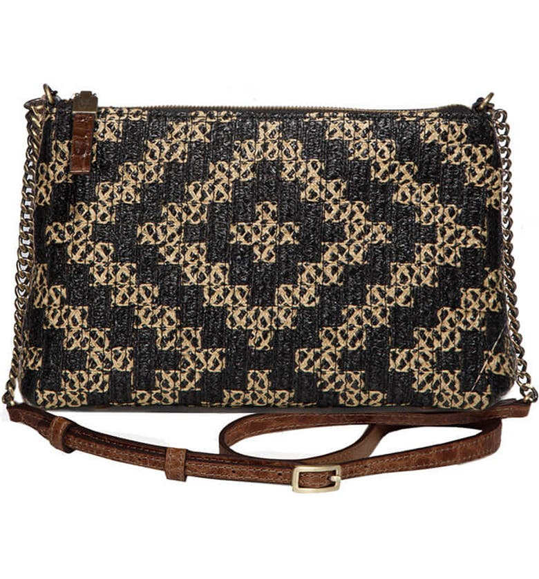 ERIC JAVITS Pochette Squishee<sup>®</sup> Crossbody, Main, color, BLACK MIX