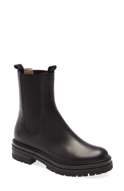 Gianvito Rossi Leathers CHELSEA BOOT