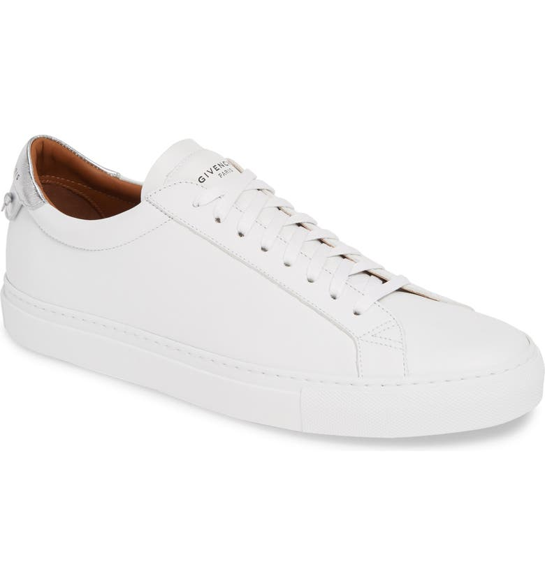 GIVENCHY Urban Knots Low Sneaker, Main, color, WHITE/ SILVER