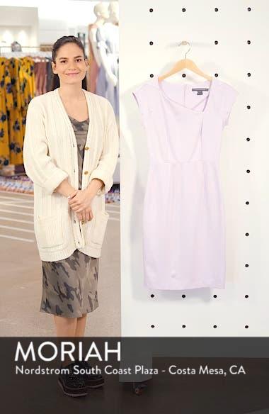 Lula Asymmetrical Neck Sheath Dress, sales video thumbnail