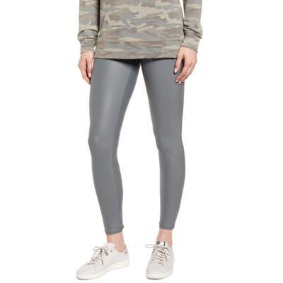 Hue Body Gloss Leggings, Grey