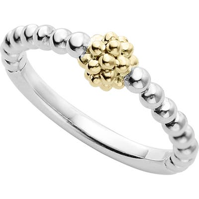 Lagos Caviar Icon Stacking Ring