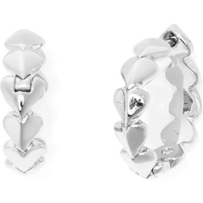 Kate Spade New York Heritage Heart Huggie Earrings