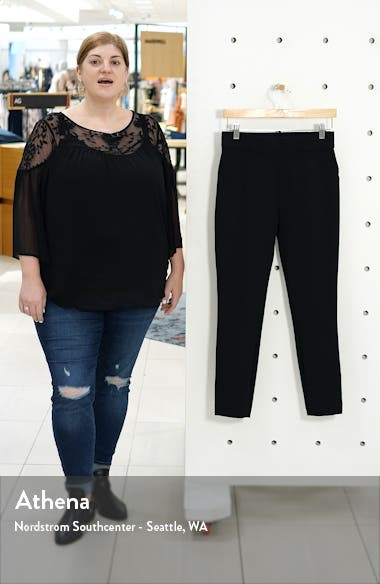 The Perfect Black Pant Back Seam Skinny Pants, sales video thumbnail