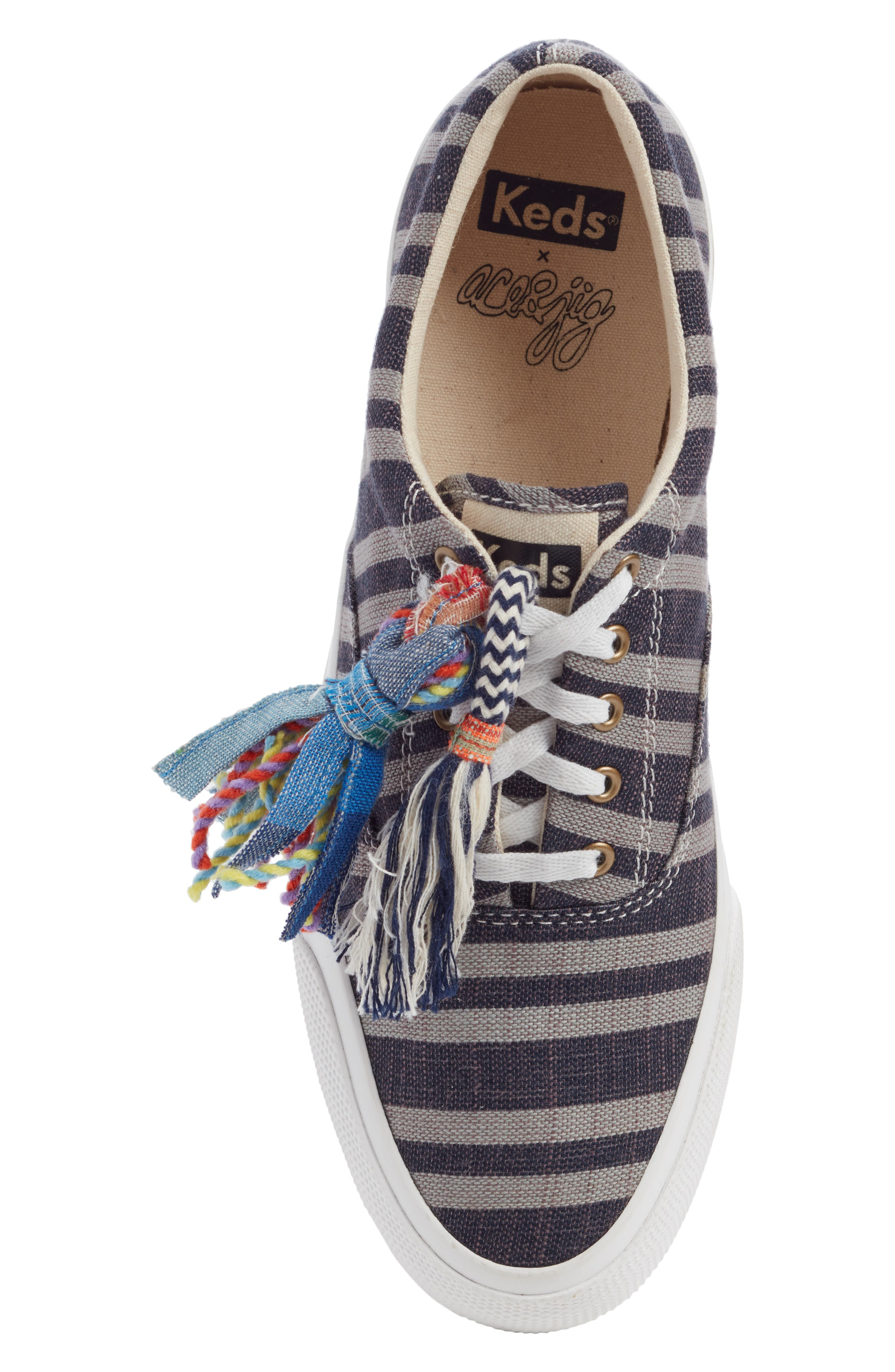 ,                             Keds x Ace & Jig Anchor Channel Sneaker,                             Alternate thumbnail 5, color,                             BLACK MULTI