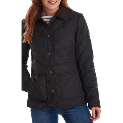 Barbour Helvellyn Quilted Jacket, US / 8 UK - Green