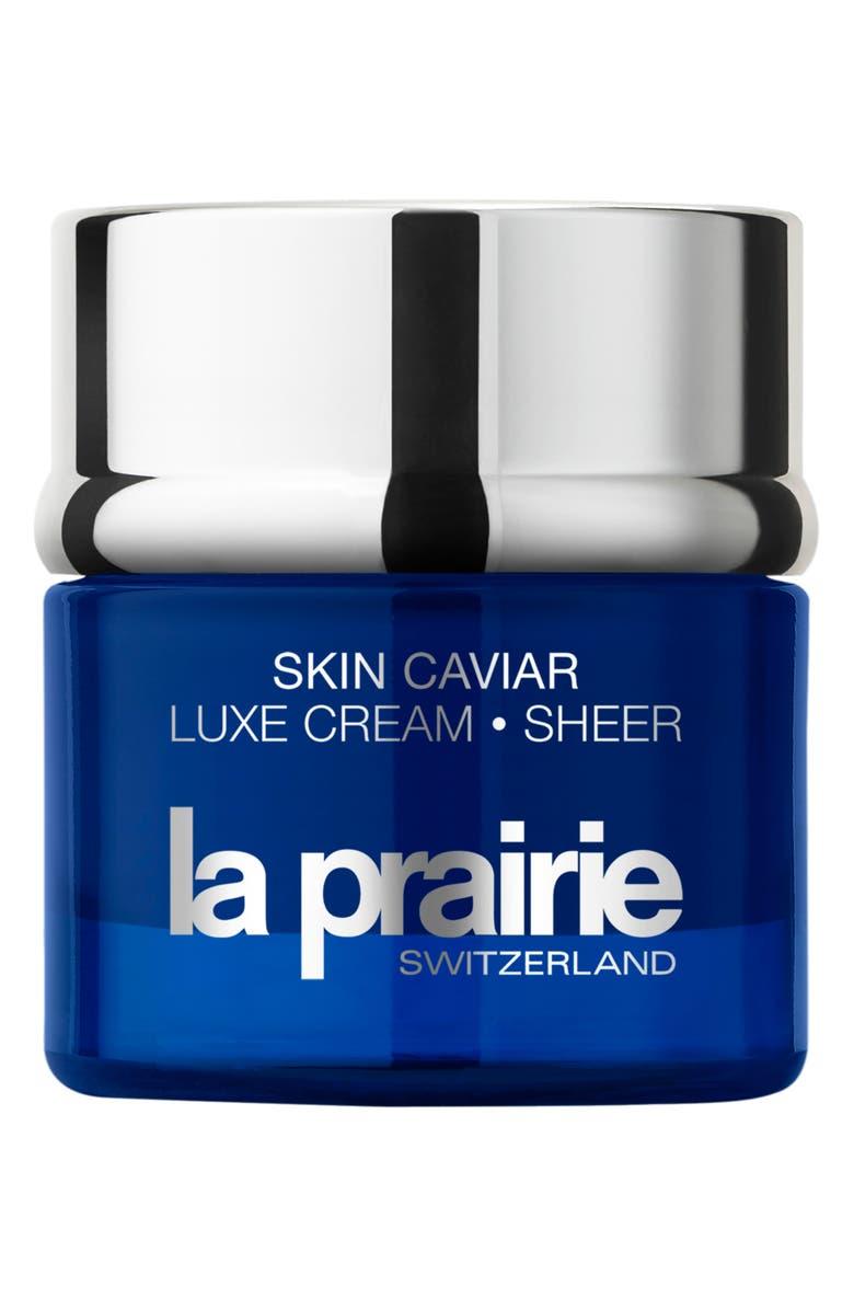 LA PRAIRIE Skin Caviar Luxe Cream Sheer, Main, color, NO COLOR