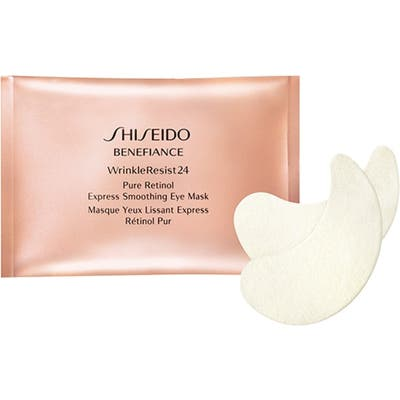 Shiseido Benefiance Wrinkleresist24 Pure Retinol Express Smoothing Eye Mask