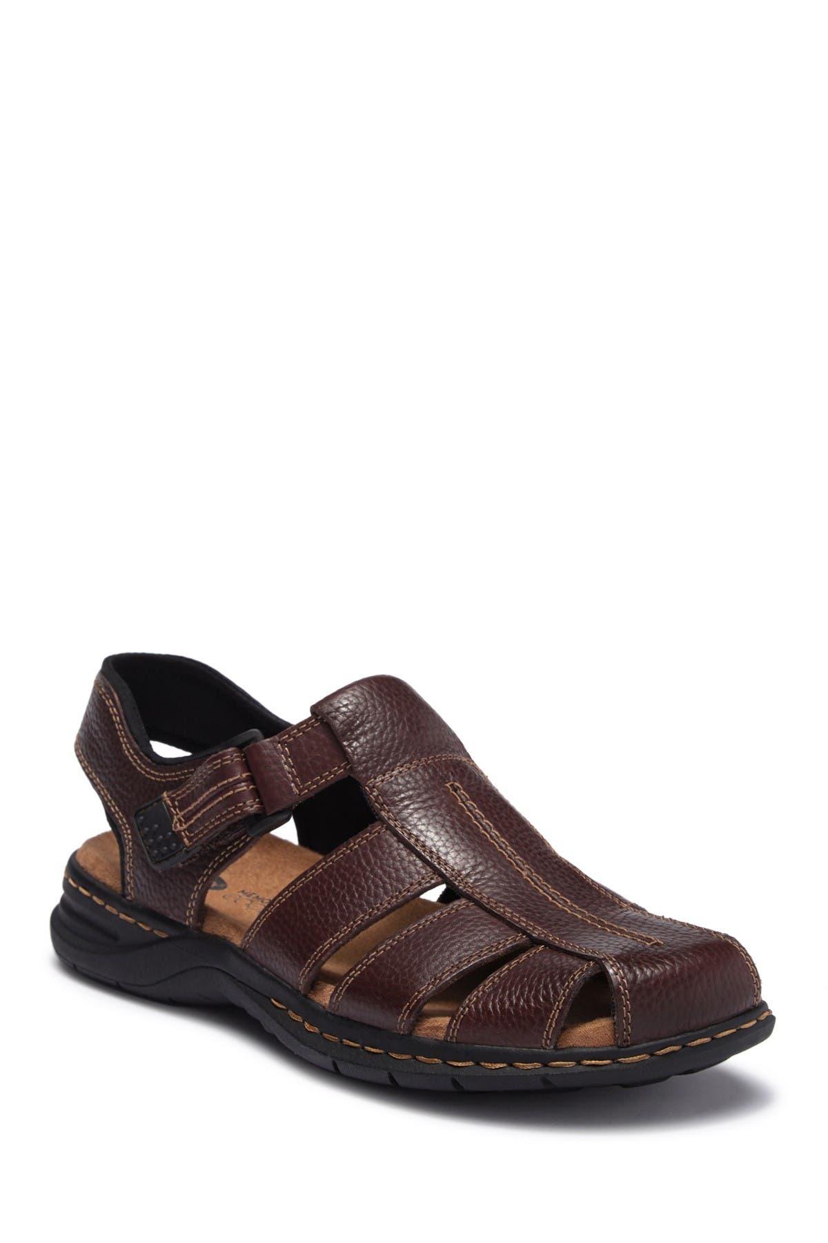 Gaston Leather Sandal   Nordstrom Rack