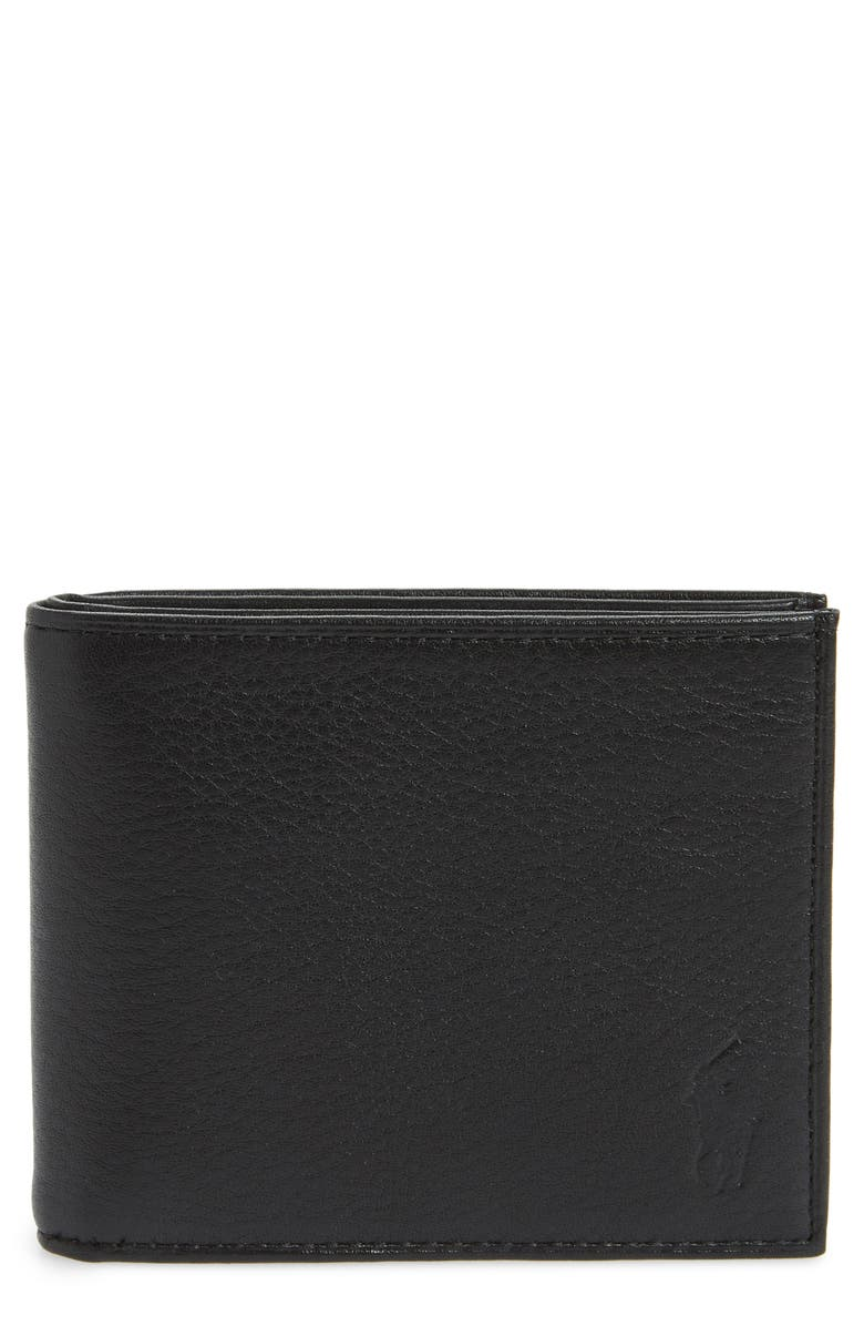 fe2bb1335 Polo Ralph Lauren Bifold Leather Wallet