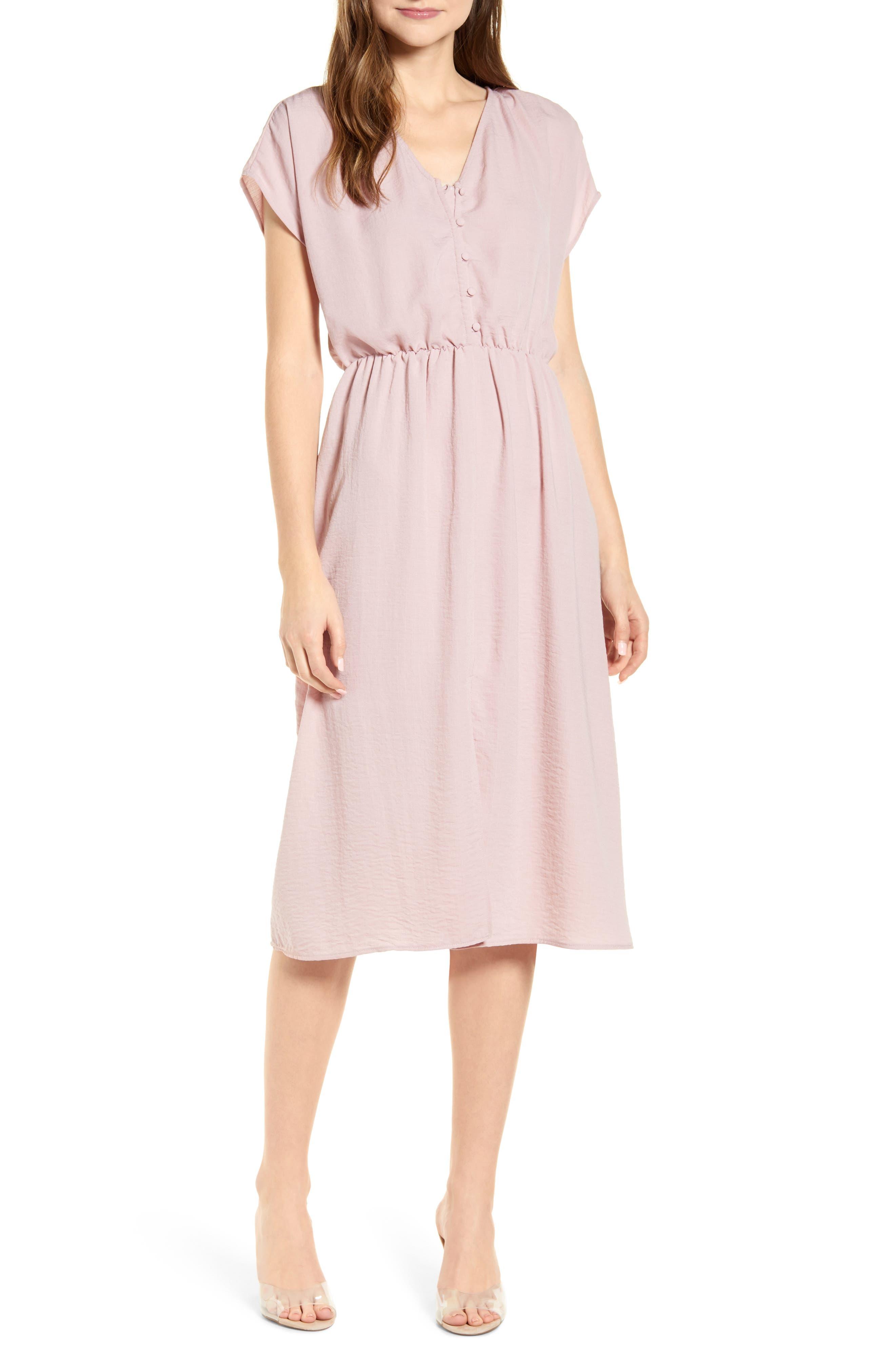 Dolman Sleeve A-Line Dress