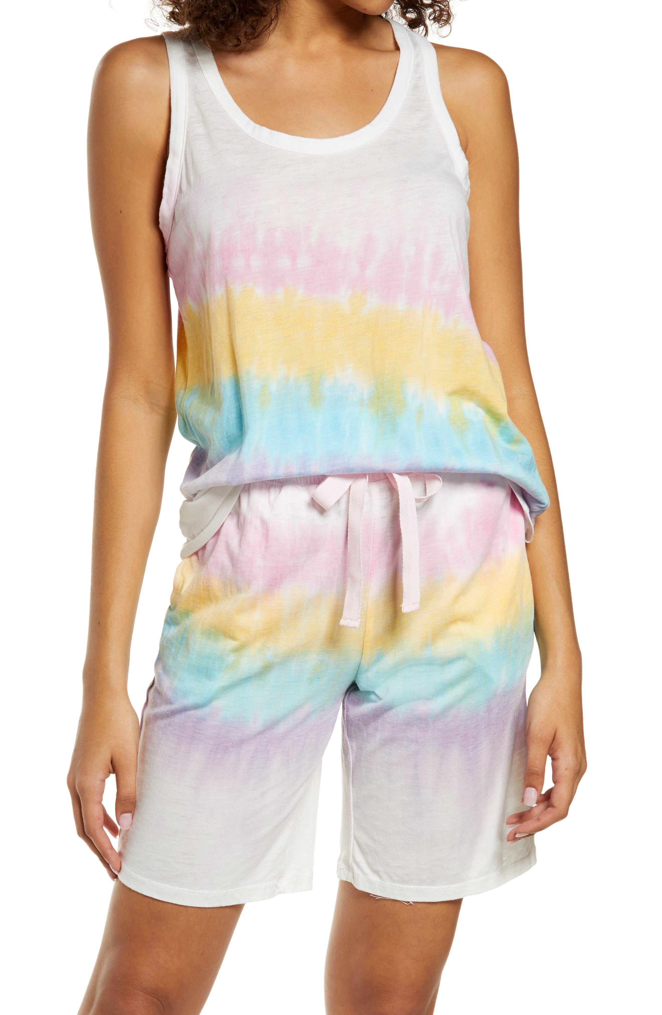 Tie Dye Short Pajamas