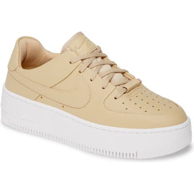 Nike Air Force 1 Sage Low 2 Platform Sneaker, Pink
