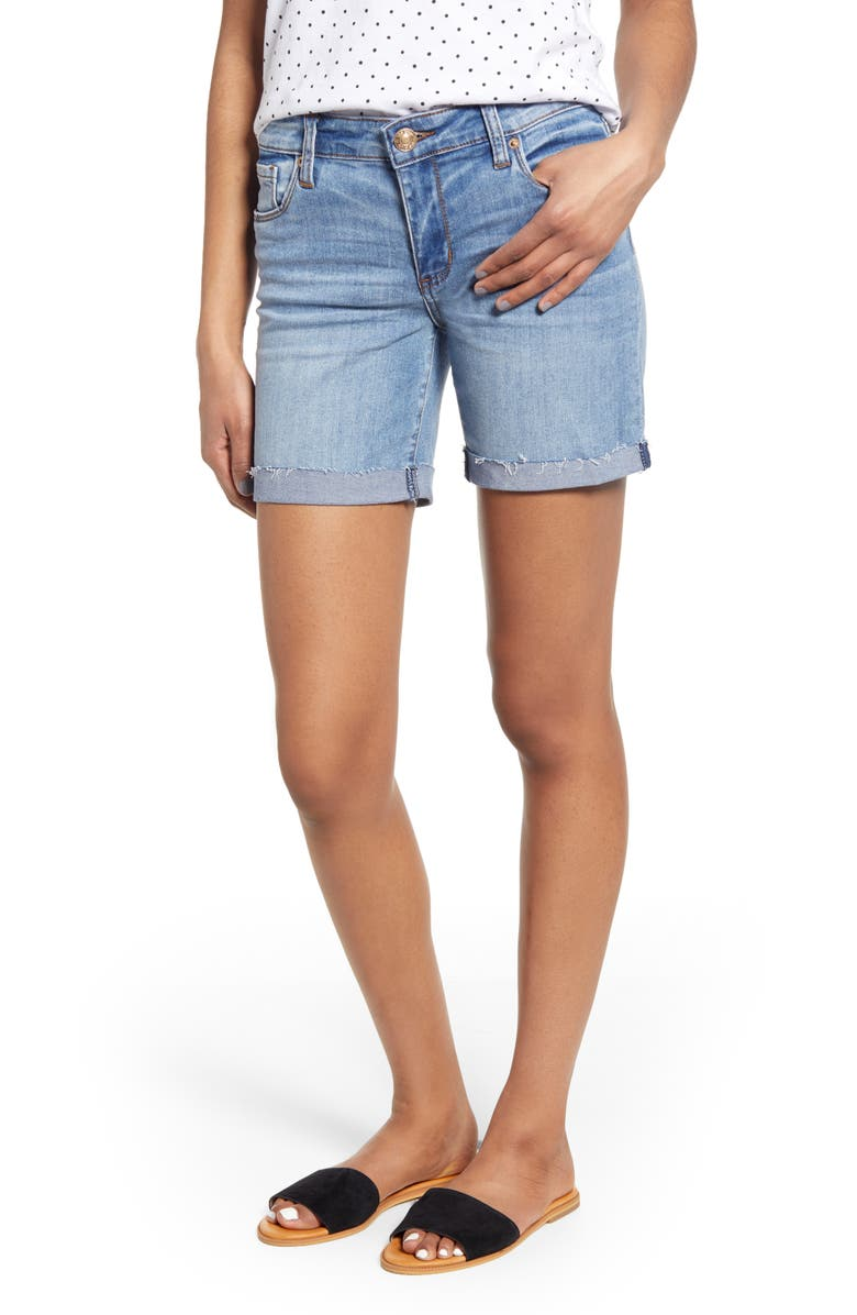 STS BLUE Becca Bermuda Denim Shorts, Main, color, BLAIRWOOD