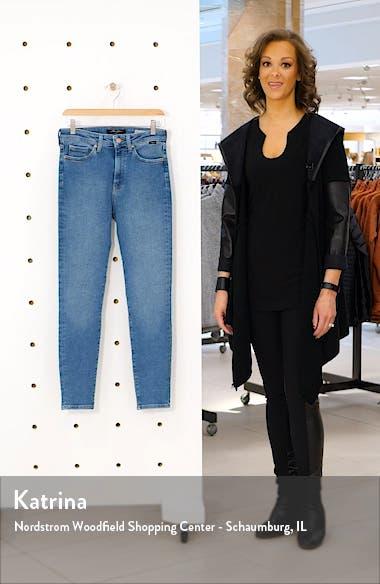 Scarlett High Waist Skinny Jeans, sales video thumbnail