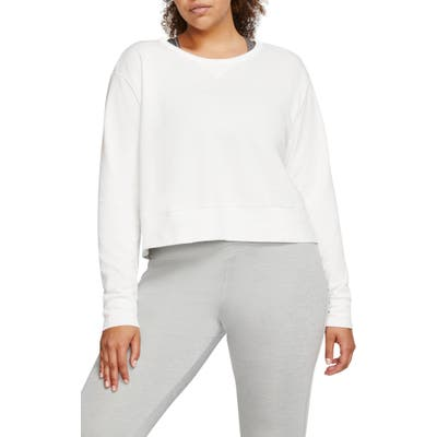 Plus Size Nike Yoga Long Sleeve Top