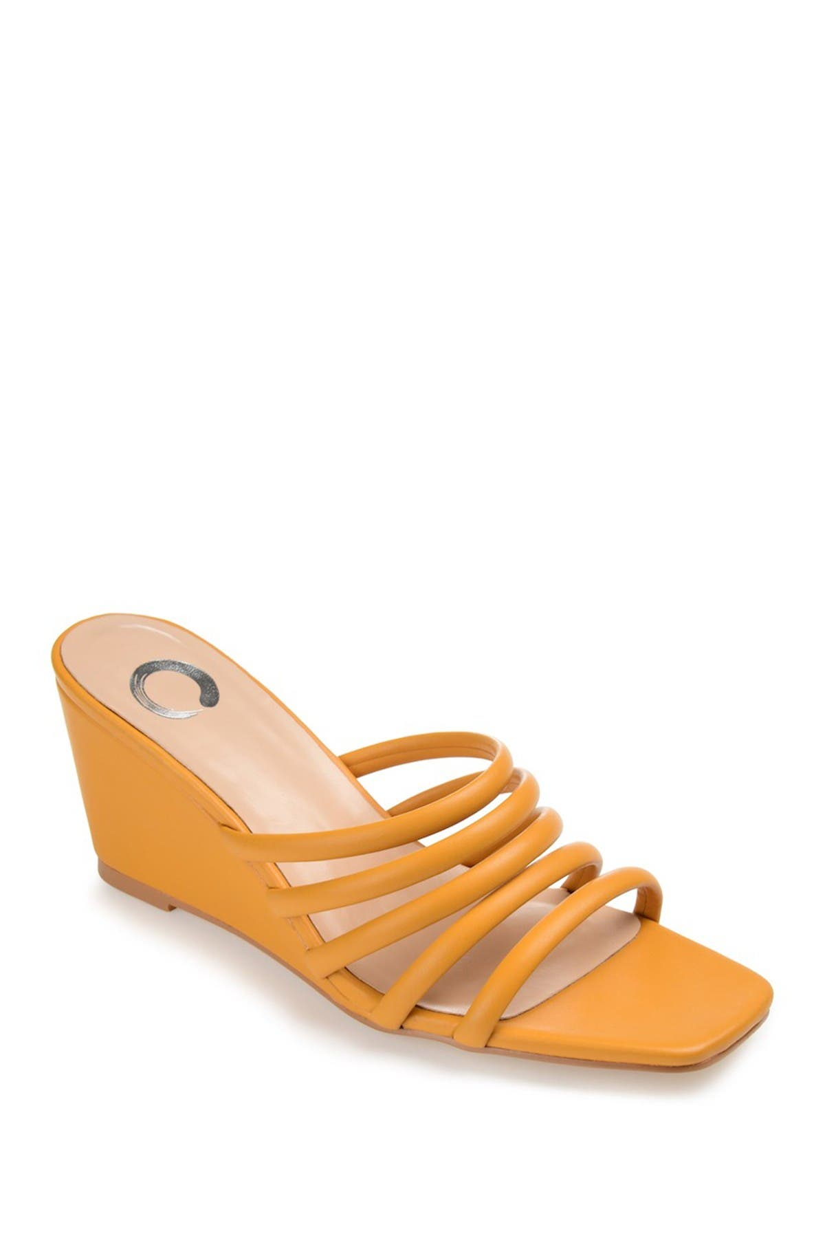 Journee Collection Wedges RIZIE STRAPPY WEDGE SANDAL