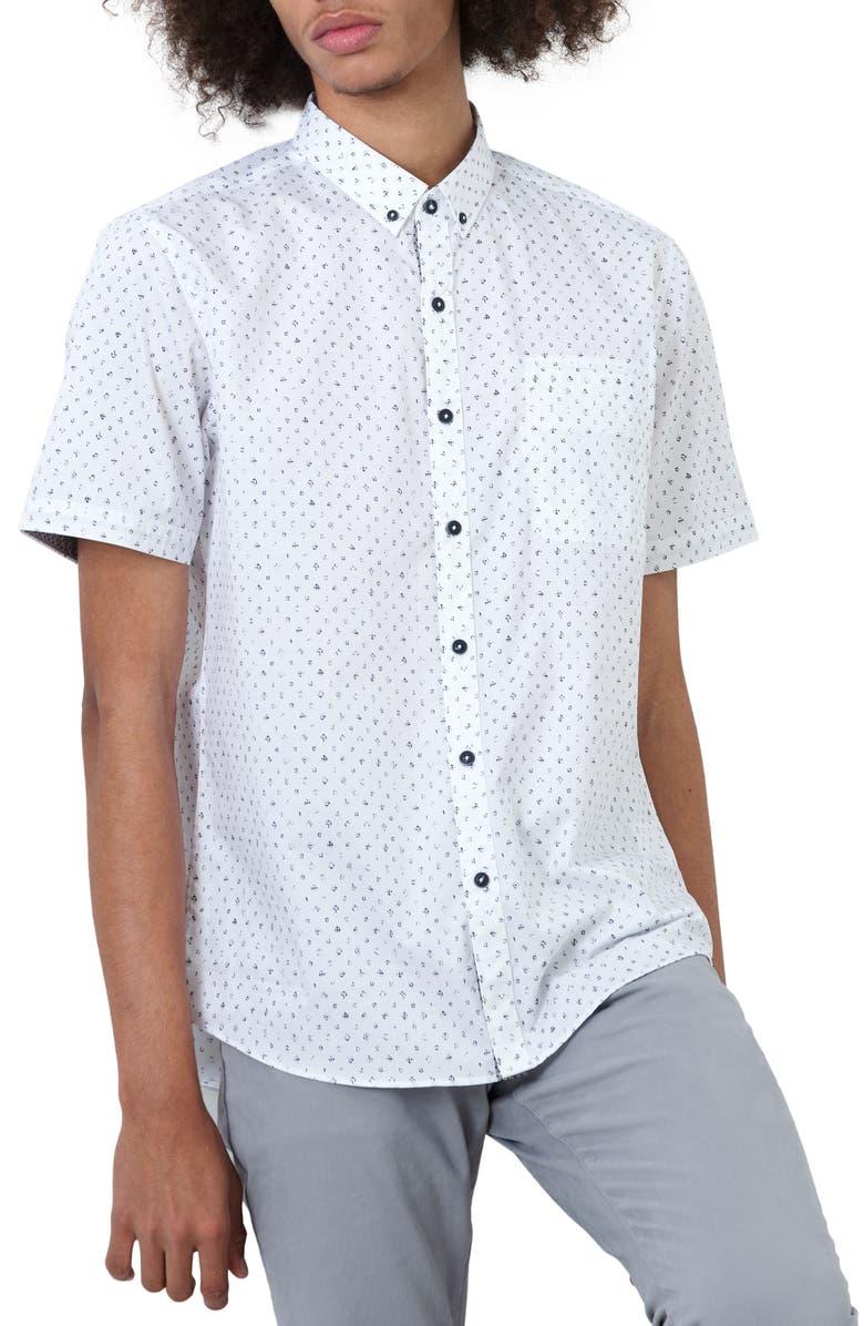 7 DIAMONDS Night Owl Shirt, Main, color, 100