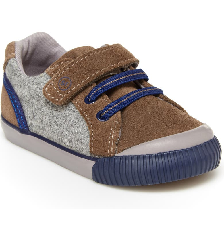 STRIDE RITE Parker Sneaker, Main, color, BROWN