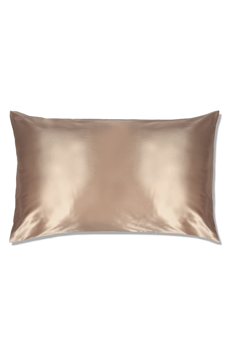 SLIP Pure Silk Pillowcase, Main, color, CARAMEL